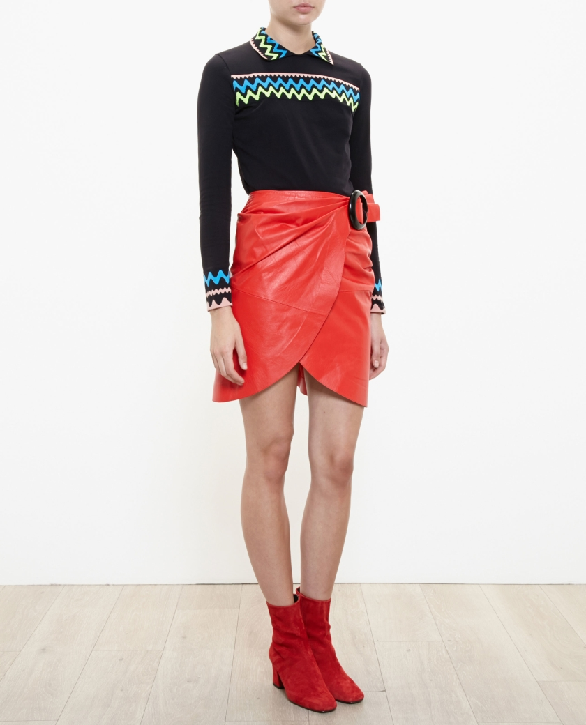 jwanderson-red-leather-skirt-with-buckle-product-0-502343890-normal