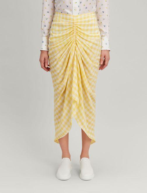 JOSEPH-Gingham-Jacquard-Roman-Skirt-Dandelion-jp0002580713C5-3